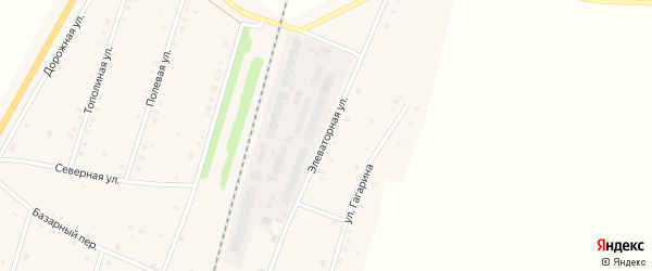 Элеваторная улица на карте села Шингак-Куль с номерами домов