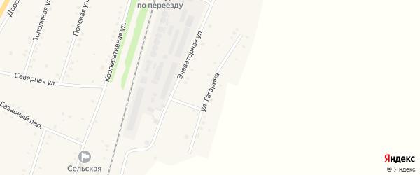 Улица Гагарина на карте села Шингак-Куль с номерами домов