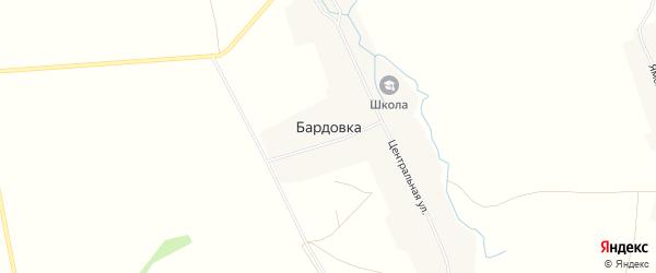 Карта села Бардовки в Башкортостане с улицами и номерами домов
