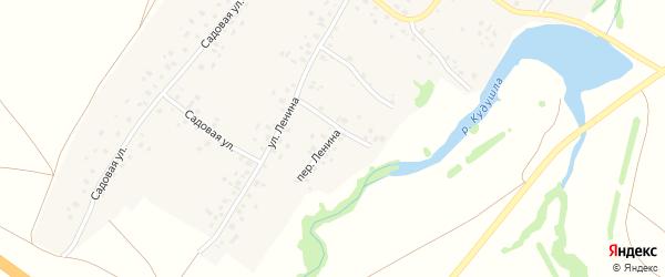 Переулок Ленина на карте села Старокурмашево с номерами домов