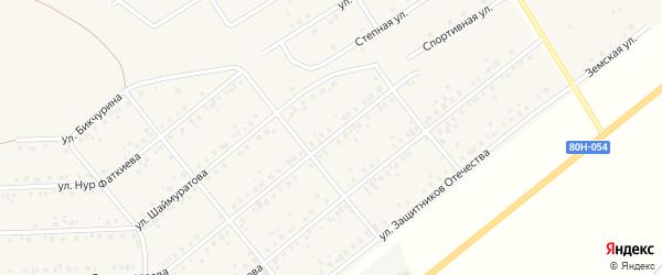 Улица Султангалеева на карте села Стерлибашево с номерами домов