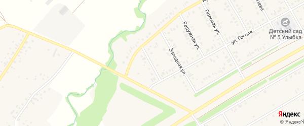 Деревенская улица на карте села Кушнаренково с номерами домов