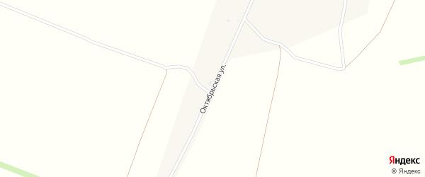 Октябрьская улица на карте деревни Вознесенки с номерами домов