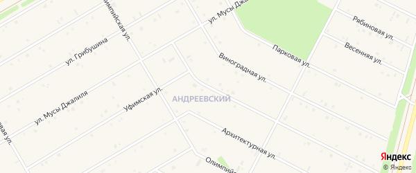 Уфимская улица на карте села Кушнаренково с номерами домов