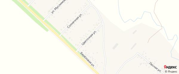 Цветочная улица на карте села Еремеево с номерами домов