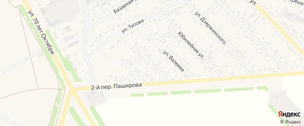 Коммунистическая улица на карте села Кушнаренково с номерами домов