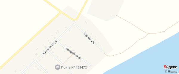 Горная улица на карте села Печенкино с номерами домов