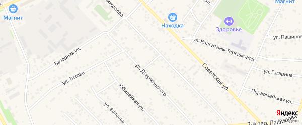 Переулок Николаева на карте села Кушнаренково с номерами домов