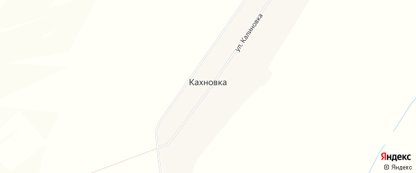 Карта села Кахновки в Башкортостане с улицами и номерами домов
