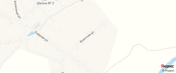 Болотная улица на карте села Чишм с номерами домов