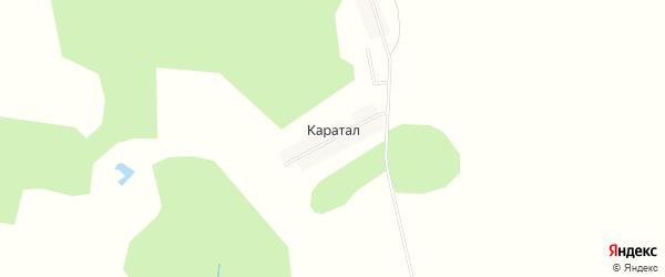 Карта деревни Каратала в Башкортостане с улицами и номерами домов