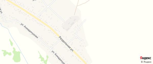 Раздольной 2-й переулок на карте села Кушнаренково с номерами домов