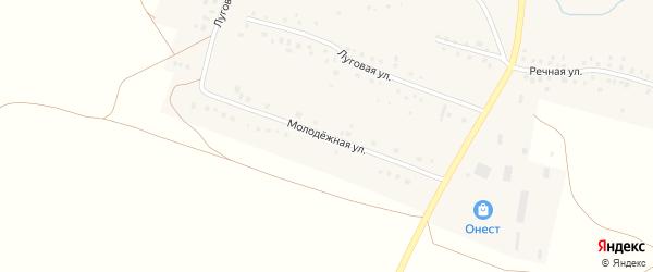 Молодежная улица на карте села Арсланово с номерами домов