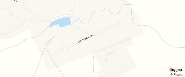 Полевая улица на карте села Теперишево с номерами домов
