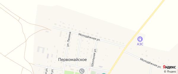 Молодежная улица на карте деревни Матвеевки с номерами домов