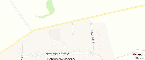 Молодежная улица на карте села Новокульчубаево с номерами домов