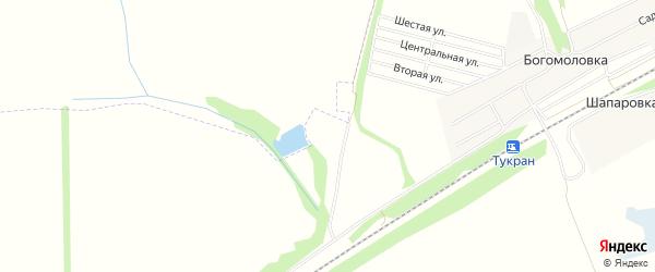 СТ Дуслык на карте деревни Алкино с номерами домов