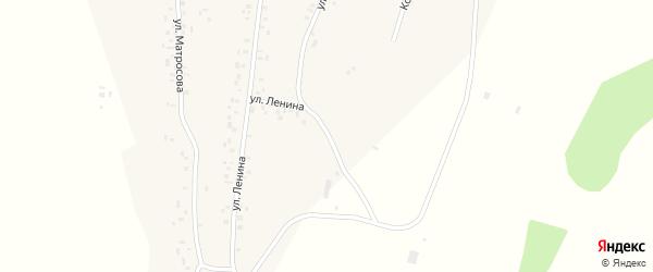 Окружная улица на карте села Бахтыбаево с номерами домов