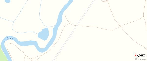 Центральная улица на карте деревни Новоабдуллино с номерами домов