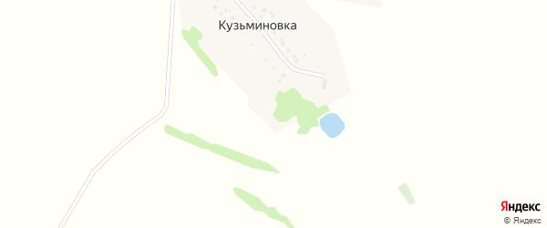 Кузьминовская улица на карте деревни Кузьминовки с номерами домов