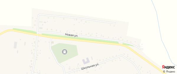 Новая улица на карте села Старомусино с номерами домов