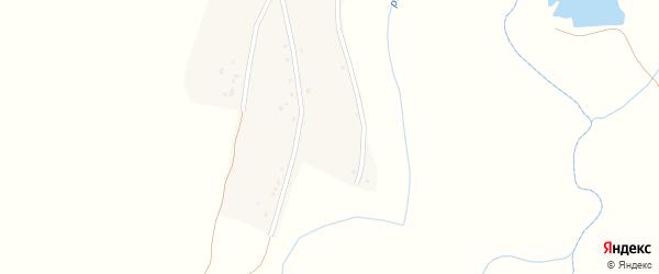 Улица С.Юлаева на карте деревни Верхнего Аллагувата с номерами домов