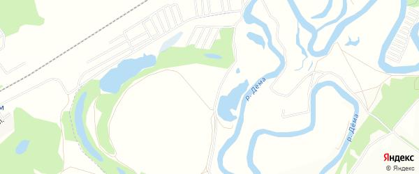 СНТ Озерное на карте деревни Заводянки с номерами домов