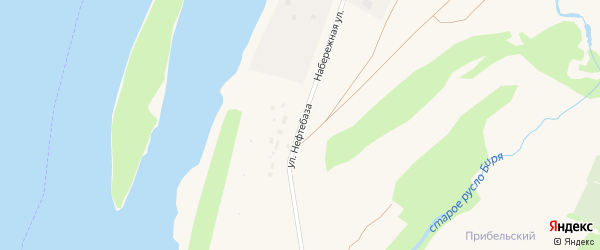 Улица Нефтебаза на карте Бирска с номерами домов