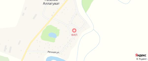 Станция Аллагуват на карте Салавата с номерами домов