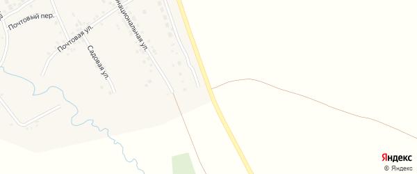 Восточная улица на карте села Силантьево с номерами домов