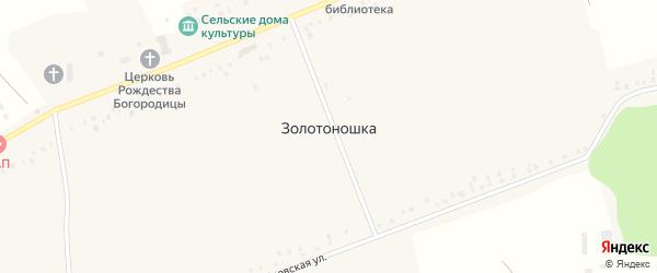 Полтавская улица на карте деревни Золотоношки с номерами домов