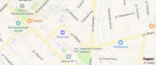ГСК 3 на карте Октябрьского с номерами домов
