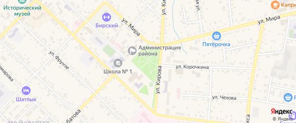 Парк Победы на карте Октябрьского с номерами домов