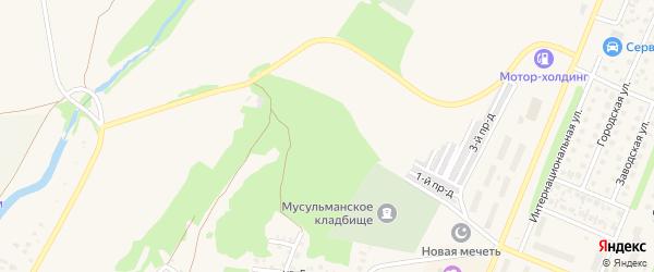 Сад Агидель на карте Бирска с номерами домов