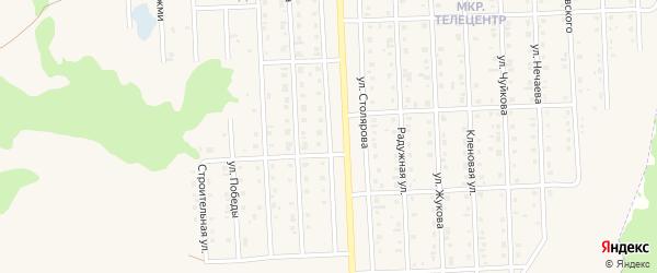 Улица Столярова на карте Бирска с номерами домов