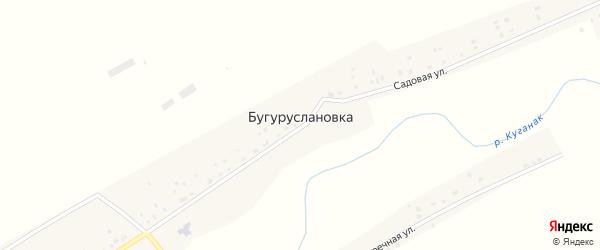 Речная улица на карте деревни Бугуруслановка с номерами домов