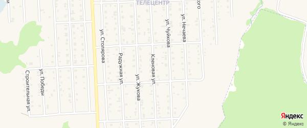 Кленовая улица на карте Бирска с номерами домов