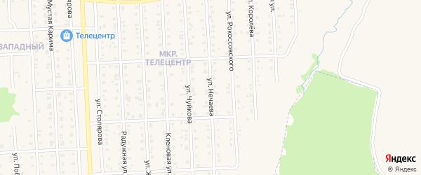 Улица Нечаева на карте Бирска с номерами домов