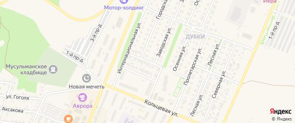 Апрельская улица на карте Бирска с номерами домов