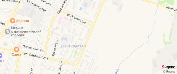 Улица Гагарина на карте Бирска с номерами домов