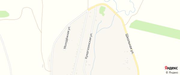 Куюргазинская улица на карте села Якупово с номерами домов