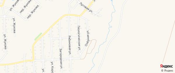 Озерная улица на карте Бирска с номерами домов