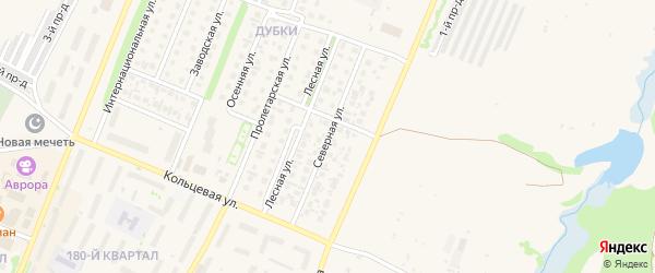 Северная улица на карте Бирска с номерами домов
