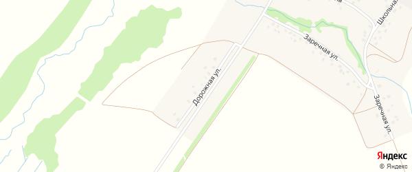 Дорожная улица на карте деревни Гарибашево с номерами домов