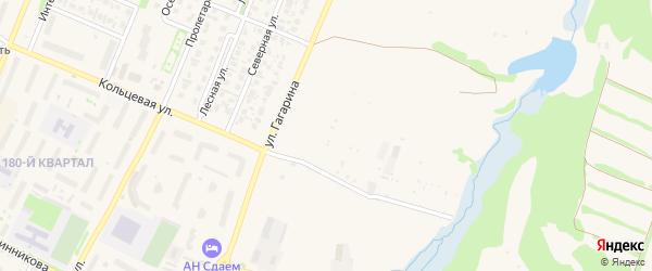 Северный сад на карте Бирска с номерами домов