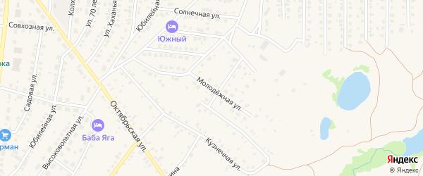 Молодежная улица на карте Бирска с номерами домов