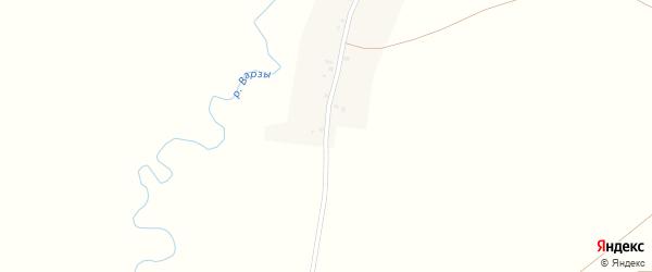 Улица Мира на карте деревни Кутлиярово с номерами домов