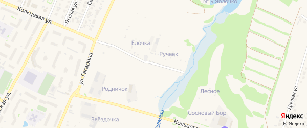Сад Елочка на карте Бирска с номерами домов