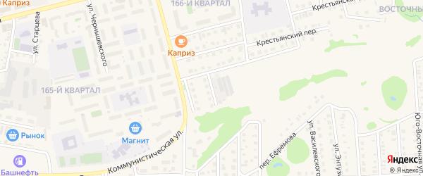 Родниковая улица на карте Бирска с номерами домов