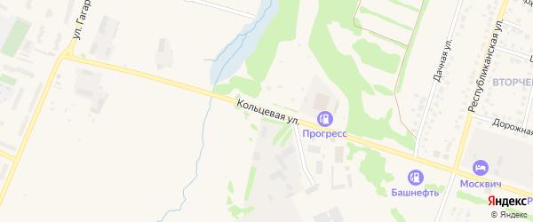 Кольцевая улица на карте Бирска с номерами домов